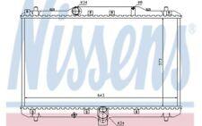 NISSENS Radiador, refrigeración del motor FIAT SEDICI SUZUKI SX4 64198