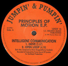 INTELLIGENT COMMUNICATION - Principles Of Motion E.P. - 1991 Jumpin' & Pumpin'