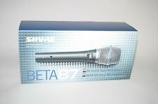 Shure Beta 87A Condenser Cable Professional Microphone