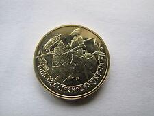 2 zł.seria wojsko konne rycerz ciężkozbrojny XV w waga monety  GN 8,15 grama UNC