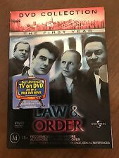 law and order DVD Collection Season 1