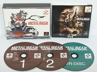 METAL GEAR SOLID INTEGRAL PS1 Playstation Japan Game p1