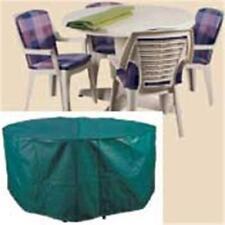 Housses de meubles extérieurs de jardin et de terrasse verts en polyéthylène