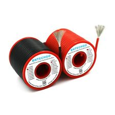 BNTECHGO 14 AWG Silicone Wire Spool 80feet RC CABLE LEAD 40ft Black and 40ft Red