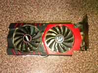 MSI NVIDIA GeForce  GTX 970 GAMING Twin Frozr 4G 4096 MB Graphics Card