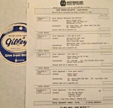 RADIO SHOW: LIVE FROM GILLEY'S 8/31/87 CHARLY McCLAIN LIVE IN CONCERT w/13 TUNES