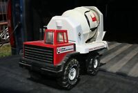 Mighty Tonka Cement Mixer Delivery Truck - pressed steel - Lafarge custom