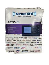 New ListingSirius-Xm Xez1H1 Onyx Ez Satellite Radio With Home Kit Compact Sealed New