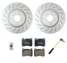 NEW For Mercedes W203 C230 Sedan Ceramic Front Brake KIT with Sport Package