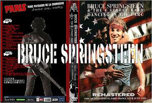 2DVD.BRUCE SPRINGSTEEN,  Live In Paris France 6/29/1985 ( PARC DE LA COURNEUVE )