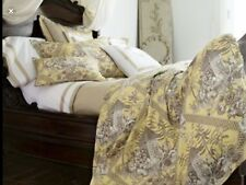 Neiman Marcus Legacy Home Standard Sham Turkish Toile Collection Yellow $220.00
