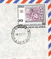 CF37 1975 PAPUA NEW GUINEA *Goroka* Air Mail Cover Devon {samwells-covers}