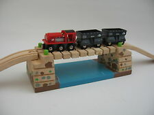 WOBBLY BRIDGE  for Wooden Train Track Set  ( Brio Thomas ) NEW /  BOXED