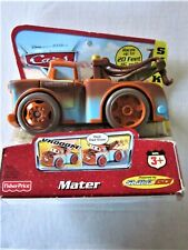MATER SHAKE ME 2006 Disney Cars Movie 1 Fisher Price Toy Racer RARE!
