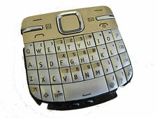 For Nokia C3 C3-00 External Number Keyboard Keypad Buttons Gold + Silver UK