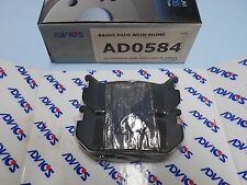 Advics OEM Premium Rear Brake Pads - Ford Probe & Mazda 626 93-97 & 626 93-02