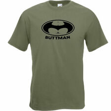 Fruit of the Loom Patternless Batman T-Shirts for Men