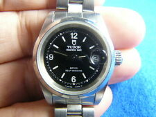 Tudor Princess Date Stainless Steel Swiss 2671 Automatic Auto Lady Women Watch