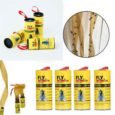 New Ribbon Strip Mouse Rat Sticky Glue Paper Catcher  Insect Trap Fly Killer