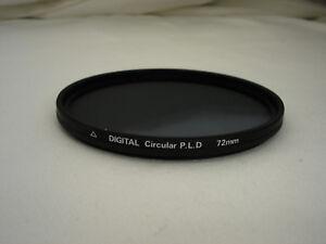 Quantaray  72mm digital Circular P.L.D. Filter , Circular Polarizing Polarizer