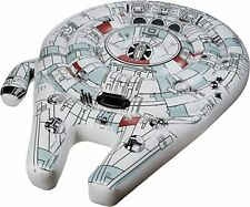 """STAR WARS MILLENNIUM FALCON INFLATABLE RIDE ON POOL FLOAT 61"""" X  46"""""""