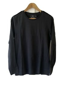 CALIBRE MERCERIZED COTTON MENS LONG SLEEVE TEE T SHIRT S Small EXCELLENT