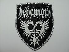 BEHEMOTH  WHITE   EMBROIDERED PATCH