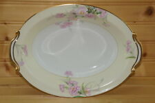 "Noritake Pink Carnation Mystery #1 Oval Vegetable Serving Bowl, 10 1/2"" x 7 5/8"""