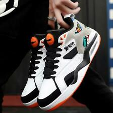 Mens Breathable Low Top Lace Up Sports Casual Shoes Training Athletic Basketball