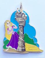Disney Pin 105012 WDI Rapunzel at Disneyland in Tower Princess Fantasy Faire LE