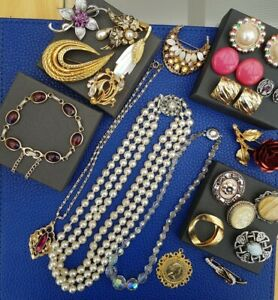 Job Lot Vintage Jewellery Inc Sarah Coventry And Movitex
