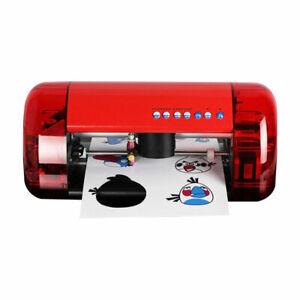 Mini A3 Stickers Cutter Vinyl Cutter Plotter Cutter Machine Contour Cut Function