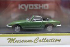 KYOSHO Lotus Elan S3 Open Green Museum Collection 1:43 Model Car New 03041G
