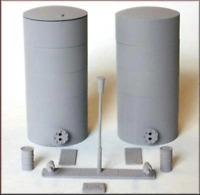 Knightwing PM135 OO Gauge Oil/Liquid Powder Tanks Plastic Kit