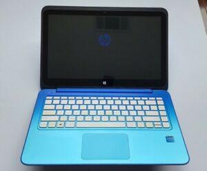 "HP Stream 13 Celeron N2840 2.16GHz 2GB 32GB WIN 10 Home 13"" Touchscreen BT"