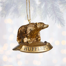 Universal Studios Harry Potter Hufflepuff House Icon Mascot Christmas Ornament