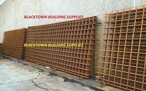 Concrete Mesh Reinforcing F82 REO Steel SL 6x2.4 Blacktown Building Supplies