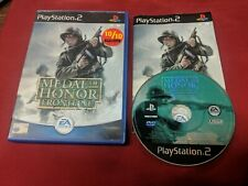 Medal of Honor Frontline PS2 Game Complete PAL BLACK LABEL TESTED WORKS