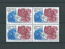 FRANCE - 1976 YT 1890 bloc de 4 - TIMBRES NEUFS** LUXE