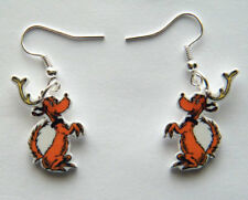 New Max the dog  Hand made charm Earrings The Grinch who Stole Christmas