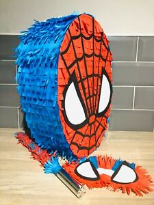Spiderman Piñata   45cm height   and Wooden Piñata Stick