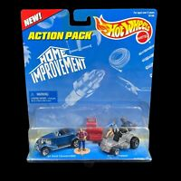 Hot Wheels HOME MPROVEMENT Action Pack TOOL TIME 16146 Ford & Dixie Chopper 1996