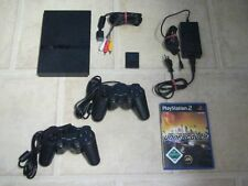 Playstation 2 Slim + 2 Controller + Need for Speed Undercover (Zubehörpaket)