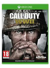 Call of Duty WWII Xbox One Game For Microsoft XB1 X S NEW SEALED COD World War 2