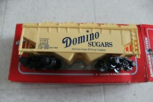 American Flyer by Lionel S Gauge Domino Sugar 2 bay covered hopper 6-49608 Nice