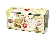 BACCO   Haselnuss,-Pistazienpaste, für Eismaschine, 2x100g, Paste,Gelato, Eis,