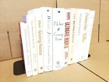 Lot of 10 Hardcover WHITE Wedding~Shabby Chic Decor Design INTERIOR BRIGHT MIX