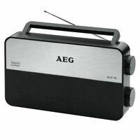 AEG Radio tragbares UKW/MW Radio Teleskopantenne  TR 4152