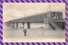 CPA 33 - Burdeos - El puente del camino de hierro del midi