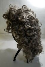 Futuretrend New Heat Resistant Synthetic Grey Curly Wigs